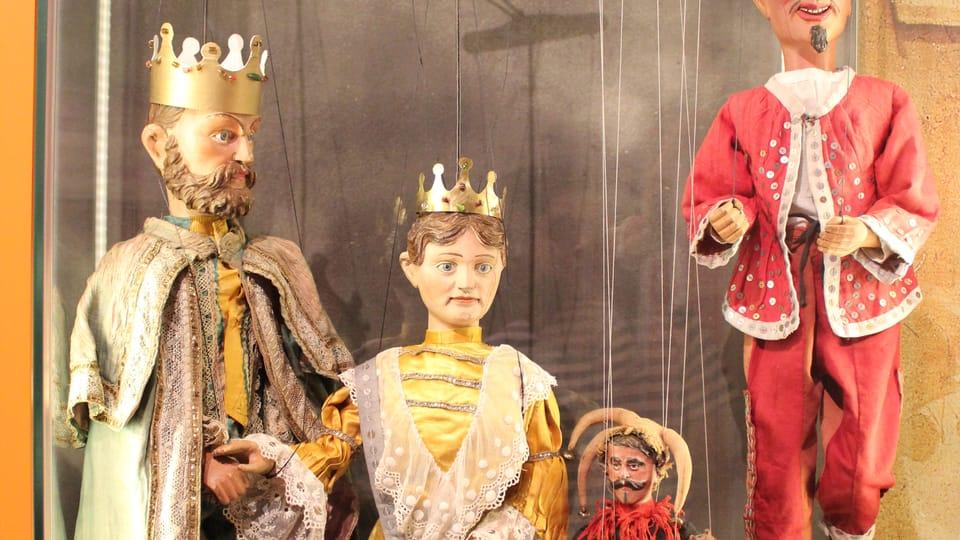 Marionetas de un teatro itinerante,  foto: Anna Královcová