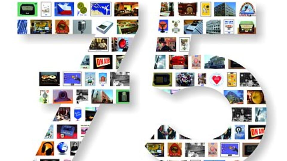 Tarjetas QSL especial con motivo del 75 aniversario de Radio Praga