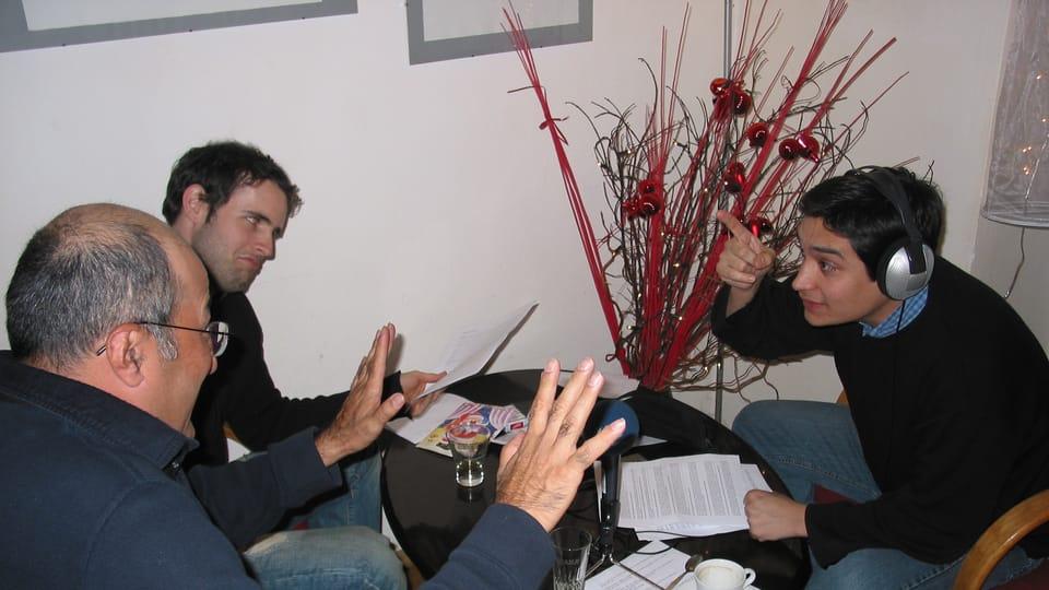 Freddy Valverde,  Carlos del Romero y Carlos González-Shánel