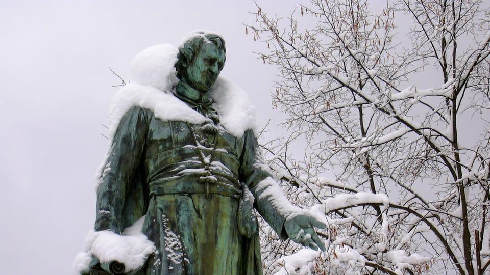 La estatua de J.W.Goethe,  foto: archivo de Radio Praga Int.