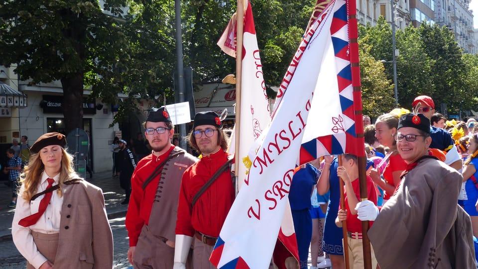 En Praga comenzó el encuentro de la histórica organización deportiva Sokol,  foto: Klára Stejskalová