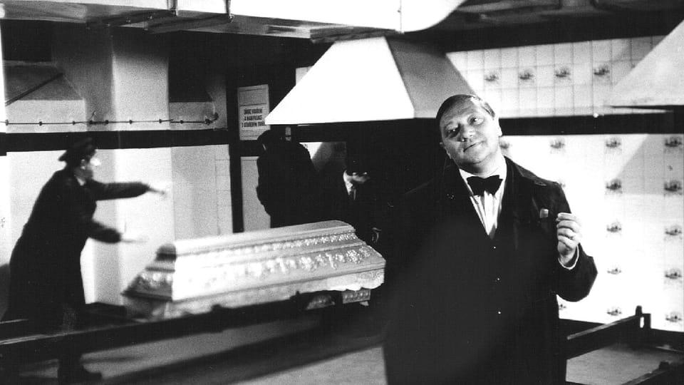 'El Incinerador de Cadáveres',  foto: archivo de ČT