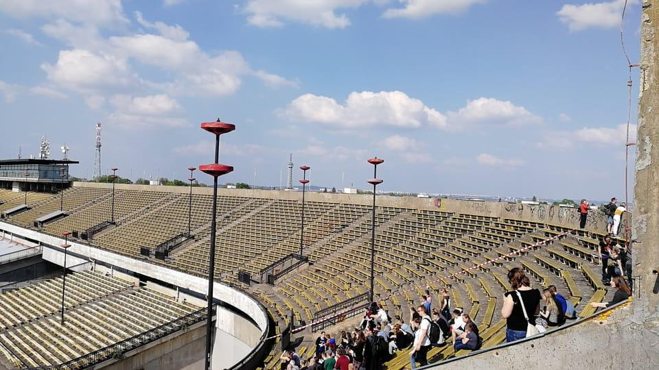 El estadio de Strahov   Foto: Štěpánka Budková,  Radio Prague International