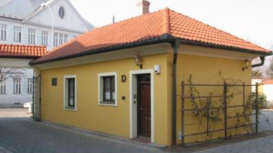 La casa natal de Max Svabinský en Kromeriz