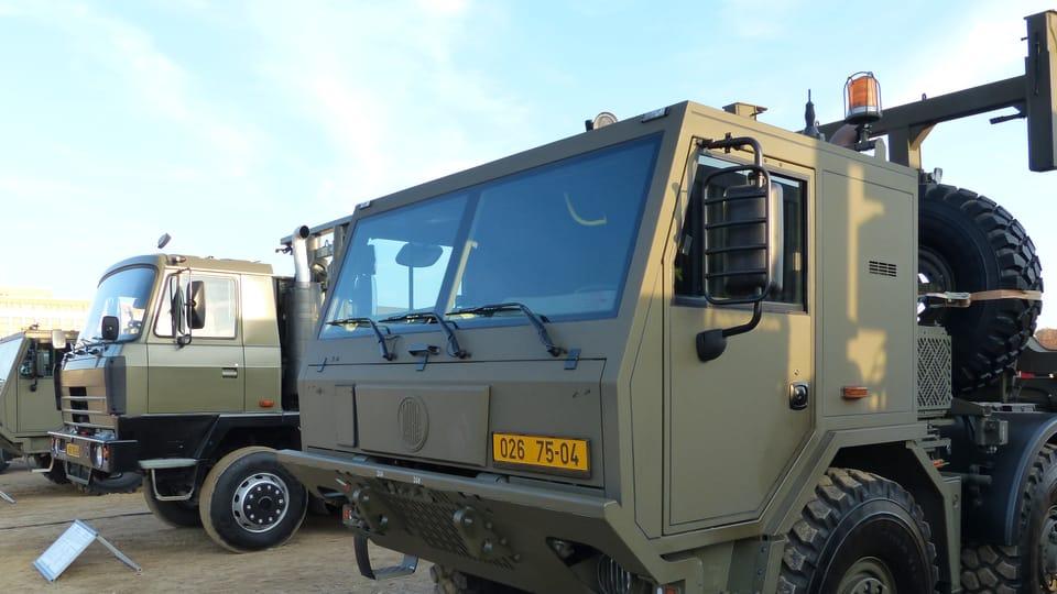 La base de los camiones militares son los TATRA,  foto: Klára Stejskalová