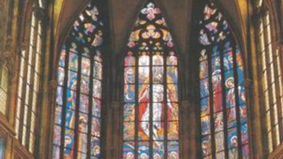 Vitrales de Max Svabinský en la catedral de San Vito