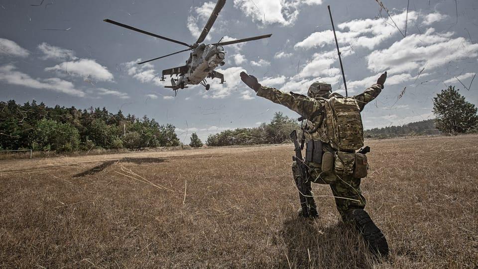 Los soldados checos en misiones en el exterior,  foto: Jarmila Štuková