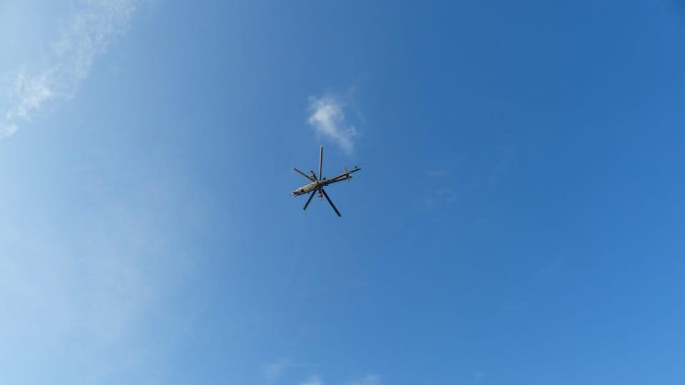 Helicóptero,  foto: Klára Stejskalová