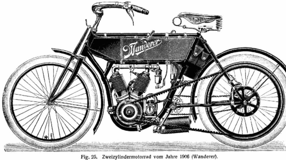Wanderer Mofa  (1904),  foto: public domain