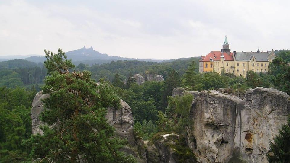 Paraíso Checo,  el castillo de Hrubá Skála,  foto: Magdalena Kašubová
