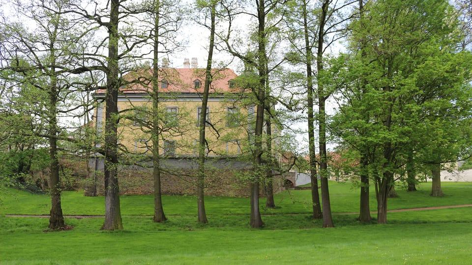 El parque del palacio de Ctěnice,  foto: Dominika Bernáthová