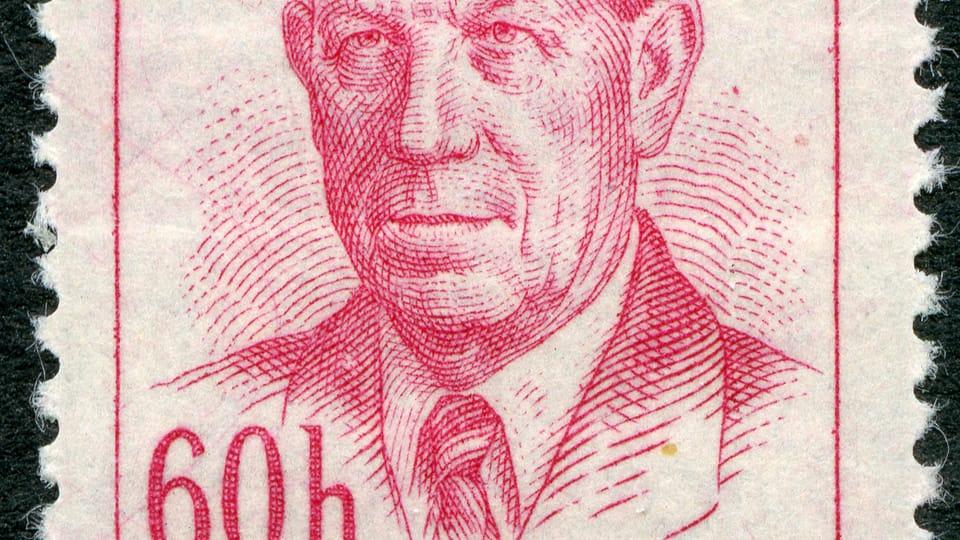 Antonín Zápotocký,  photo: archive of Prague's Postal Museum