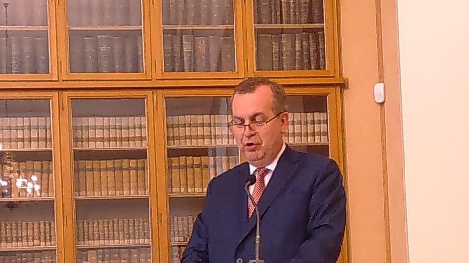 Prof. Tomáš Zima,  foto: Eliška Kubánková