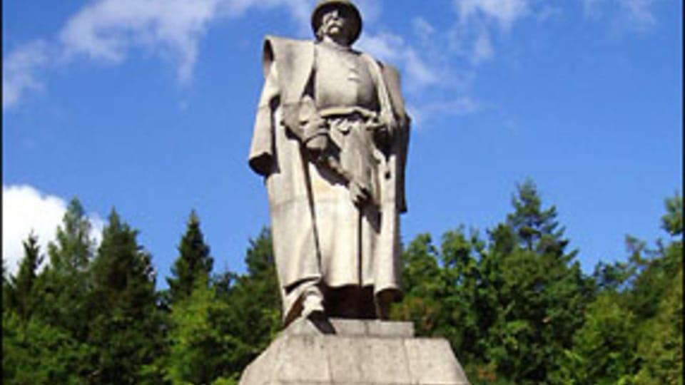 Monumento a Jan Zizka en Trocnov