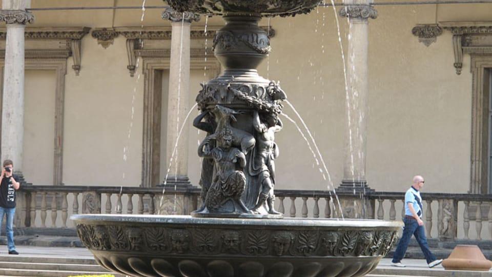 Fuente Catarina en el Jardín Real,  foto: Kristýna Maková