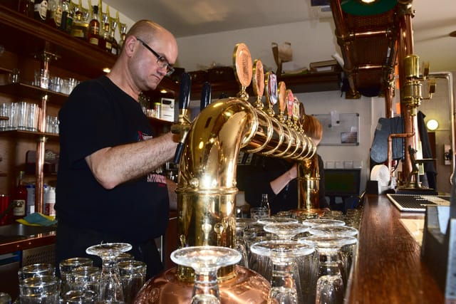 Strahovský pivovar, foto: Ondřej Tomšů