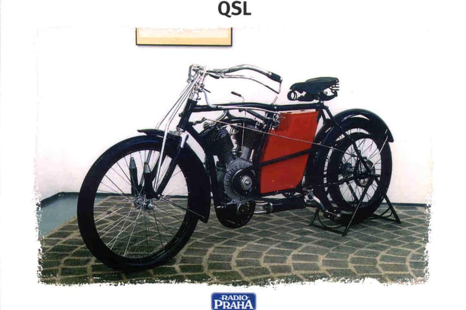QSL 2003,  Laurin and Klement,  1905 Foto: Museo Técnico Nacional,  Praga