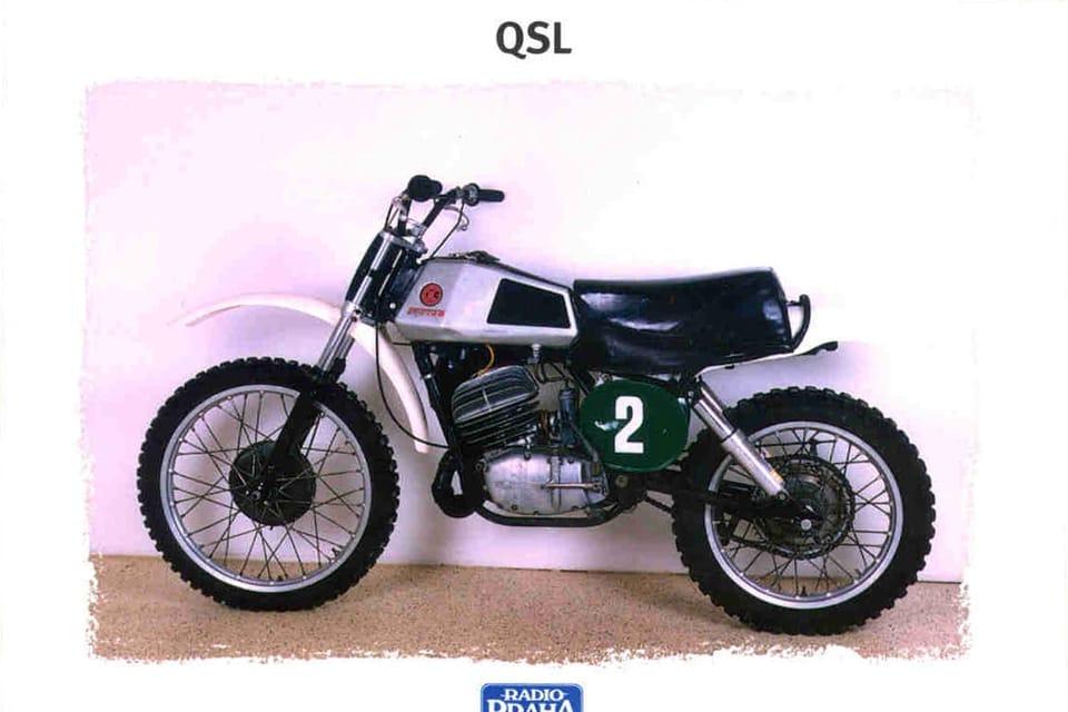 CZ 250,  motocross,  Checoslovaquia 1972 Foto: Museo Técnico Nacional,  Praga