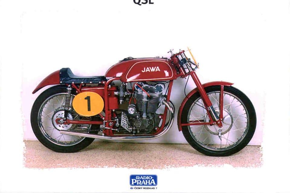 Jawa 500,  Checoslovaquia 1953