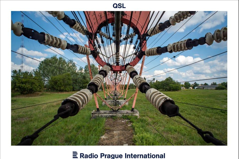 Detalle de la instalación eléctrica de la antena de Topolná,  foto: Andrea Filičková
