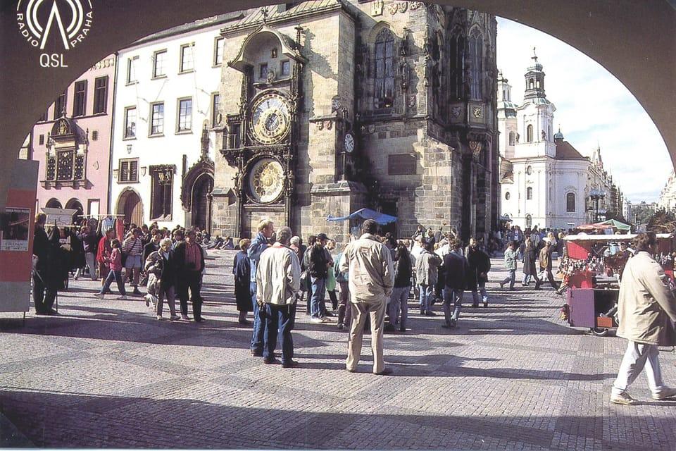 Tarjeta QSL 1995 | Foto: APF Český rozhlas