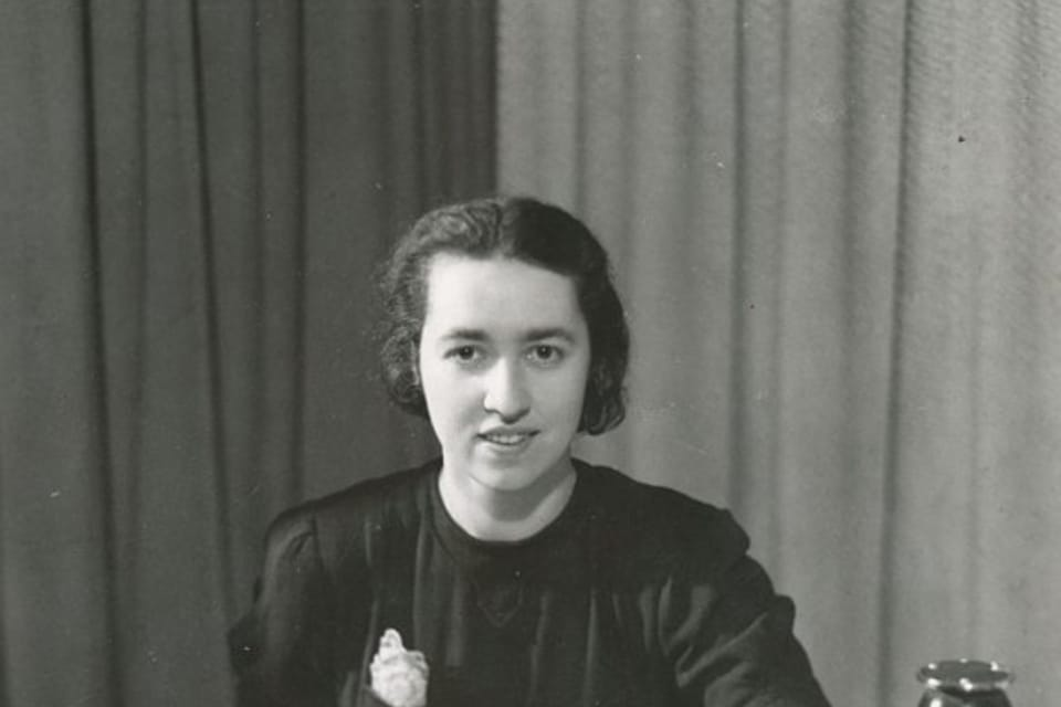 La presentadora Božena Danešová | Foto: APF Český rozhlas