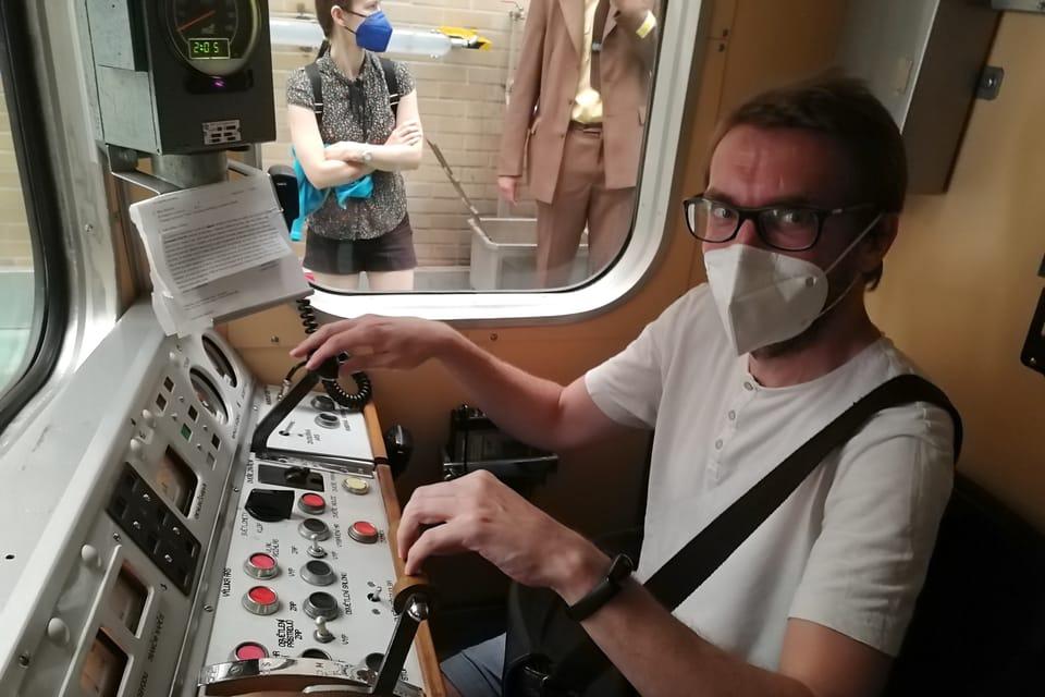 El viaje por metro histórico   Foto: Štěpánka Budková,  Radio Prague International