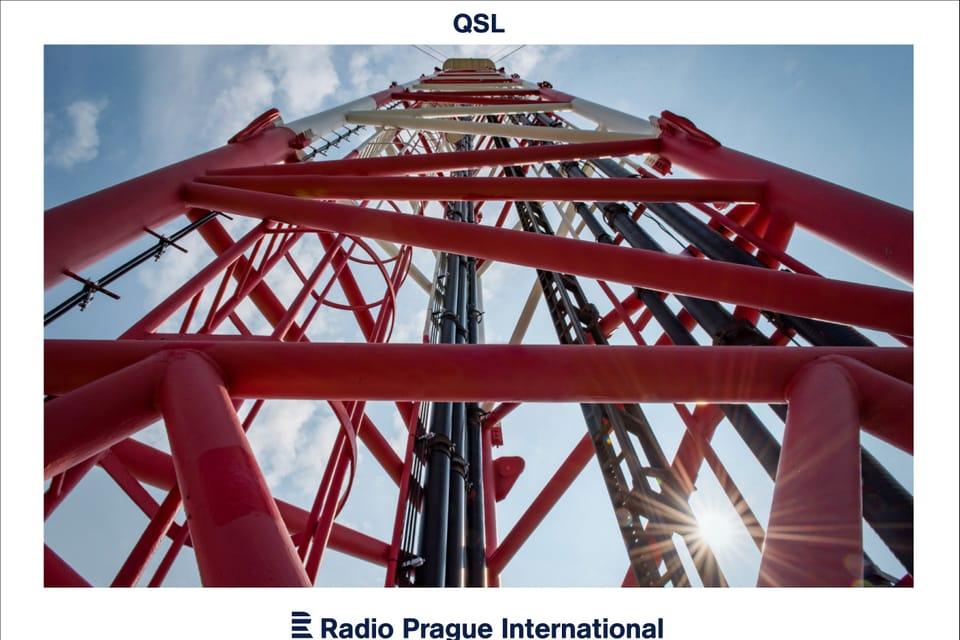 La antena de televisión de Kojál,  cerca de Brno,  foto: Andrea Filičková