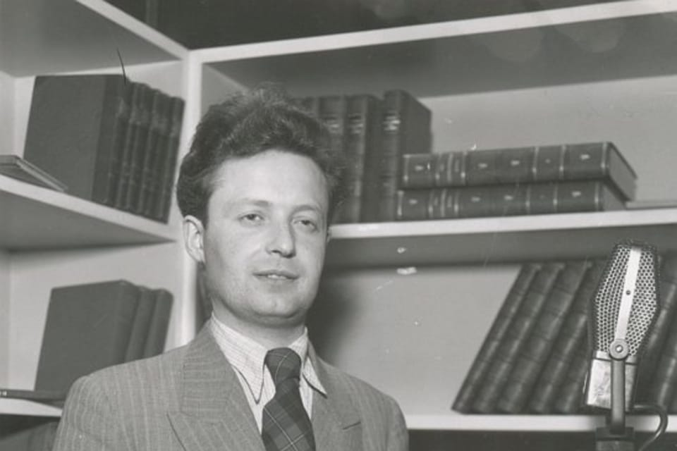 El presentador Ivan Zelínek | Foto: APF Český rozhlas