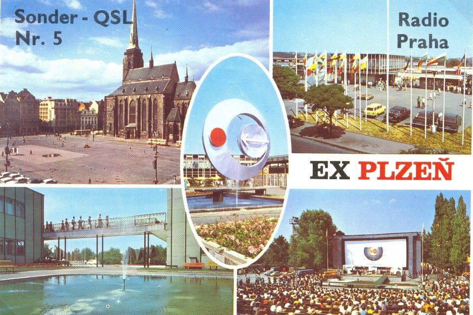 Tarjeta QSL 1980 | Foto: APF Český rozhlas