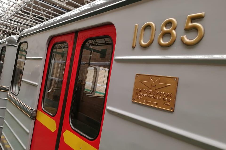 El conjunto de metro histórico en la cochera de Kačerov   Foto: Štěpánka Budková,  Radio Prague International
