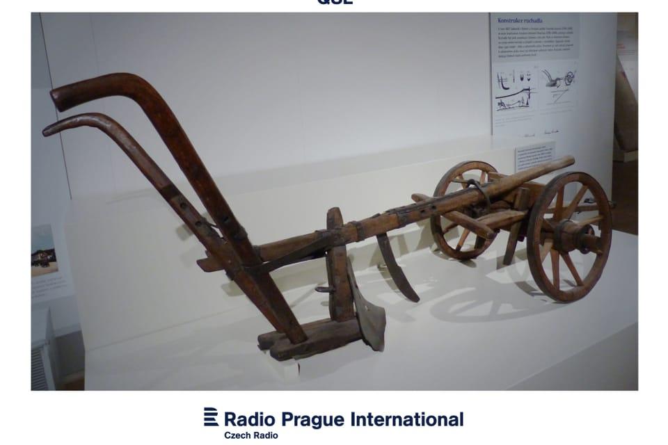El arado de los primos Veverka del año 1827. Foto: Radio Praga Internacional