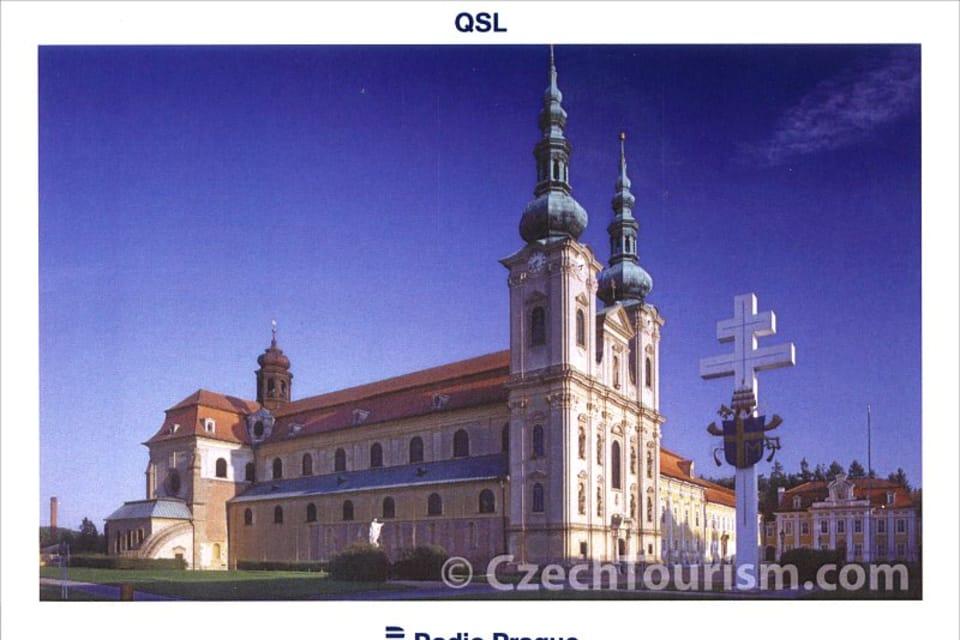 Basílica de la Asunción de la Virgen María y de San Cirilo y San Metodio,  Velehrad,  foto: CzechTourism,  Ing. Lubomír Čech