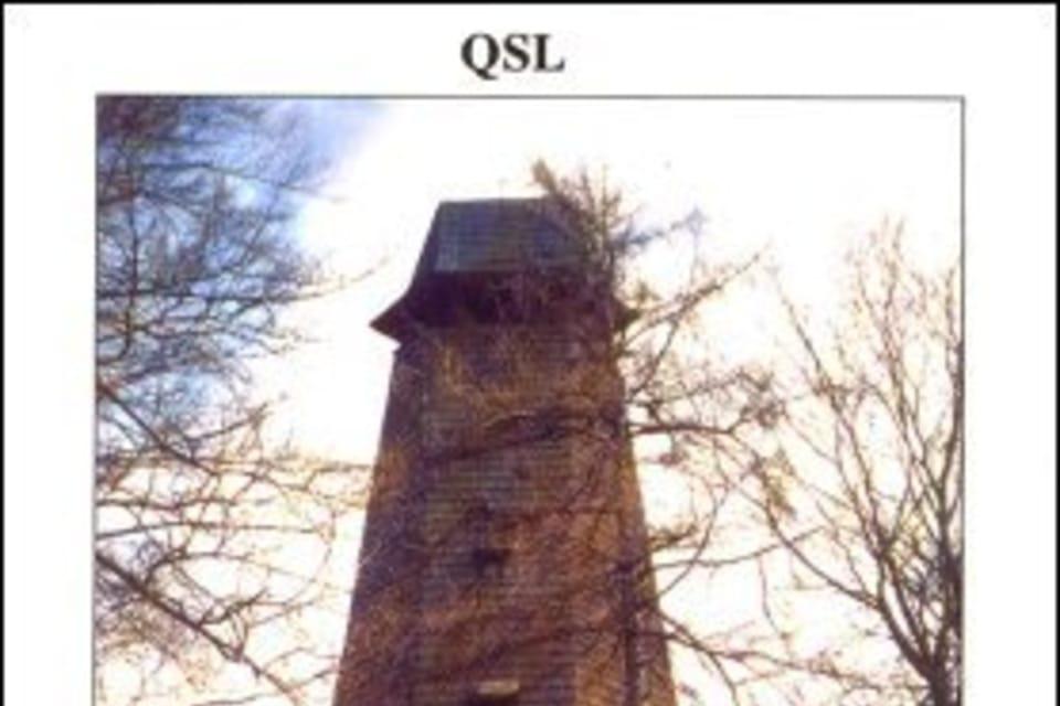 QSL 2007,  Mirador en el mítico cerro de Blaník,  foto: Marek Ondráček