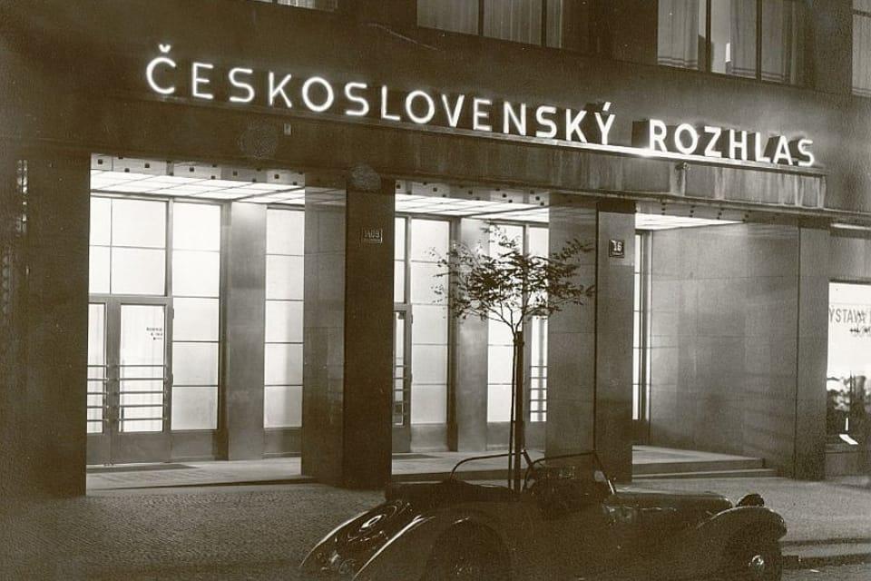 El edificio histórico de la Radiodifusión Checa | Foto: APF Český rozhlas