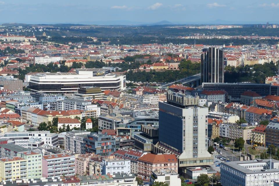 Praga desde las alturas,  foto: Klára Stejskalová