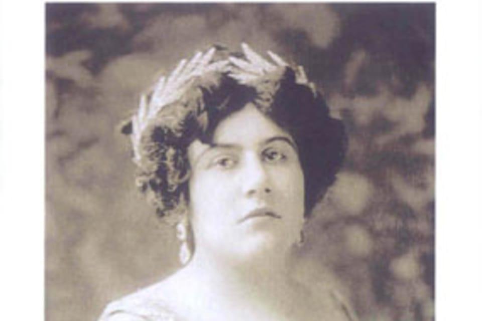 Emma Destinnová  (1878-1930),  foto: Museo de la Música Checa