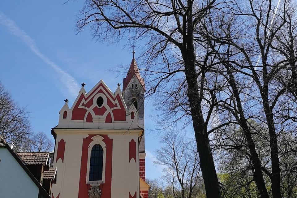 Iglesia de San Havel en Poříčí nad Sázavou | Foto: Štěpánka Budková,  Radio Prague International