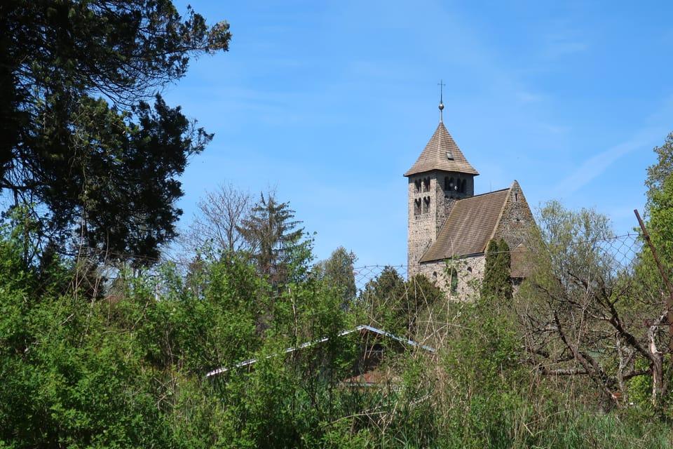 La Iglesia de San Pedro en Poříčí nad Sázavou | Foto: Štěpánka Budková,  Radio Prague International