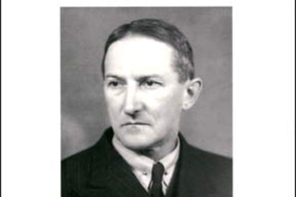 Jaroslav Heyrovský,  químico e inventor del polarógrafo Foto: Museo Nacional Técnico