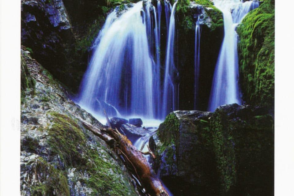 Jeseník – Bílá Opava – saltos de agua,  foto: CzechTourism