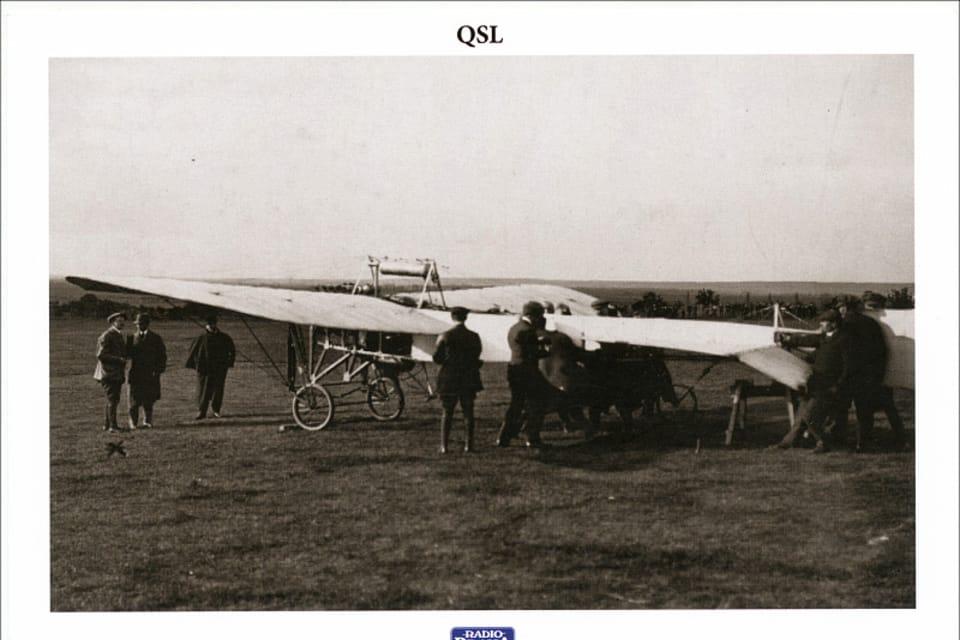 JK-system Blériot,  foto: Josef Koblížek,  Museo Técnico Nacional