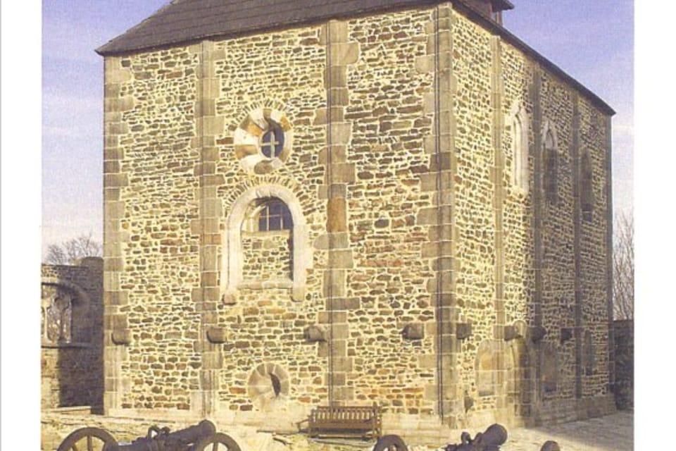 Capilla de San Martín,  San Erhard y Santa Ursula,  en Cheb,  fuente: CzechTourism