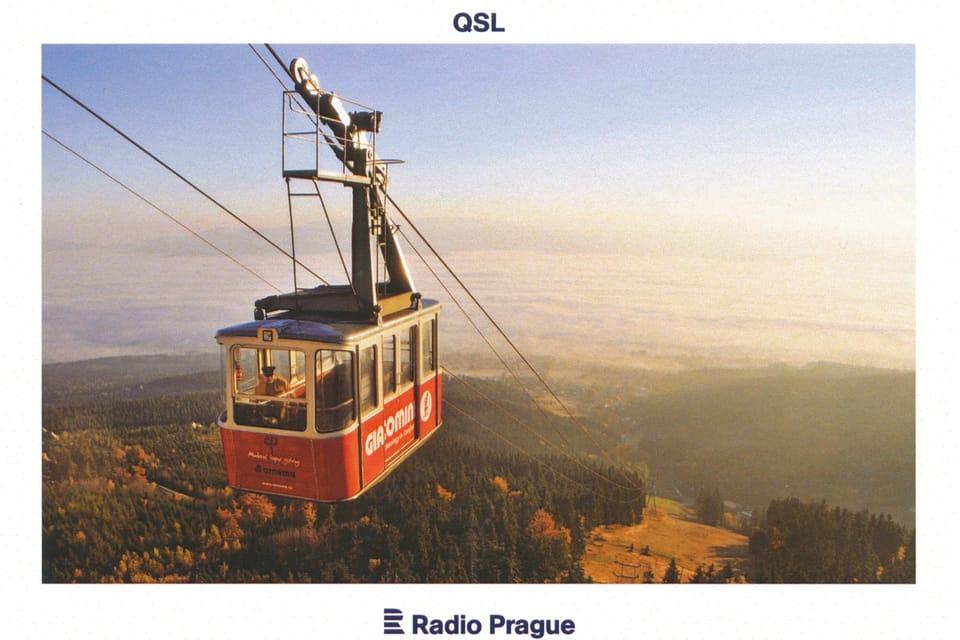 La telecabina de Ještěd,  foto: Milan Drahoňovský,  CzechTourism