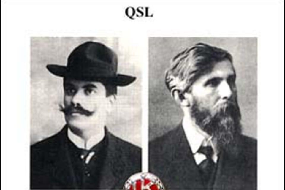 Václav Laurin y Václav Klement,  fundadores de la industria automovilística checa< Foto: ČTK