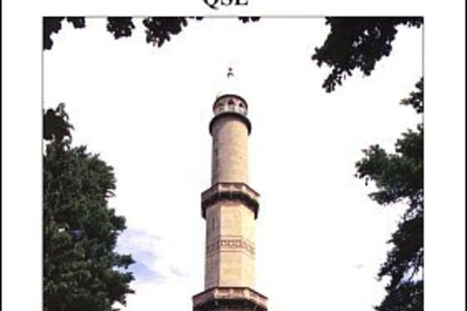 Tarjeta QSL 2007,  Mirador de Lednice,  foto: ČTK