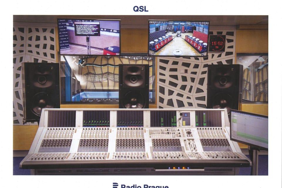 Mesa de mezclas de audio Studer del estudio S1,  foto: Khalil Baalbaki