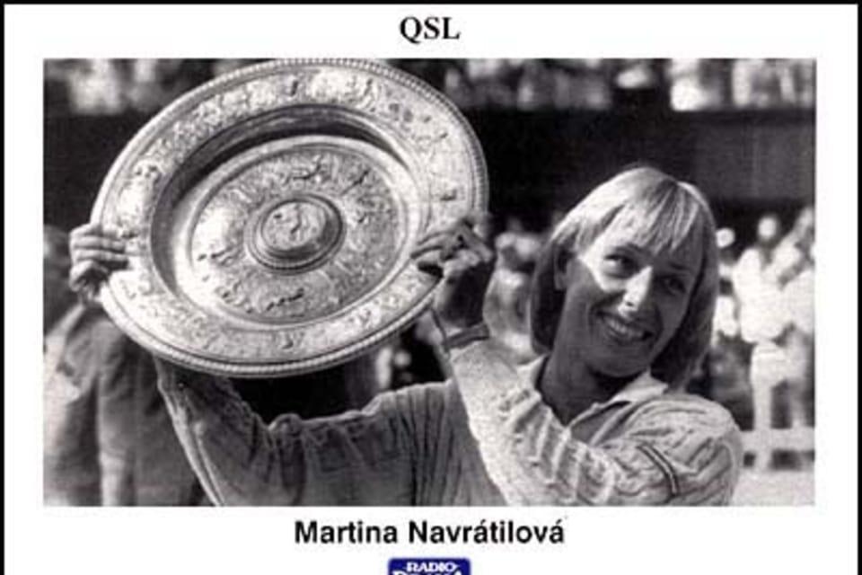 Martina Navrátilová  (1956) Tenista. En los años 1978 - 1979 y 1982 – 1986 fue la mejor jugadora del mundo. Fue la tercera mujer en la historia en ganar el Grand Slam en 1984. En 1983 y 1984 fue declarada la mejor deportista del mundo. Foto: ČTK