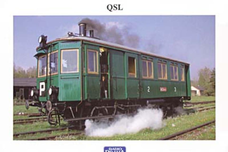 El vagón de vapor motorizado M 124.001,  apodado Mosquito según el nombre del fabricante de la caldera,  fue construido en 1903 por la fábrica de vagones de Ringhoffer,  en el barrio praguense de Smíchov. Foto: T. Kučera NTM