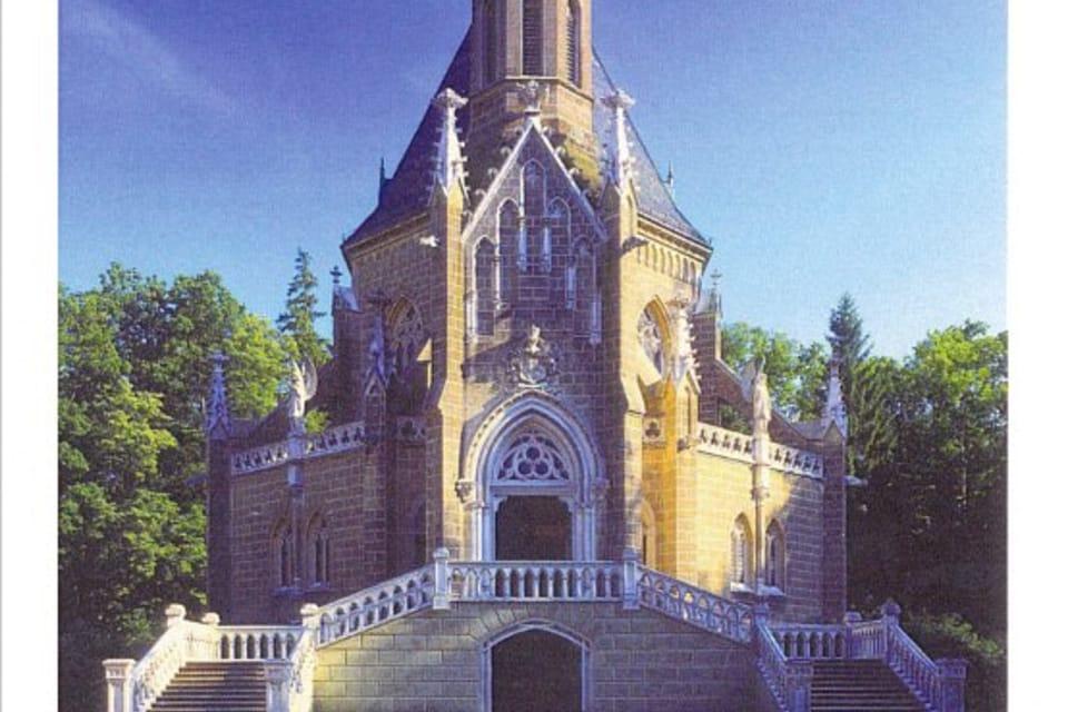 Panteón de los Schwarzenberg,  Domanín cerca de Třeboñ,  foto: CzechTourism
